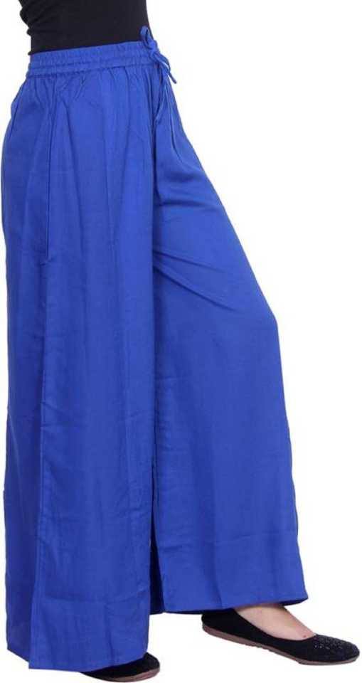 Stoc Women Blue Trousurs