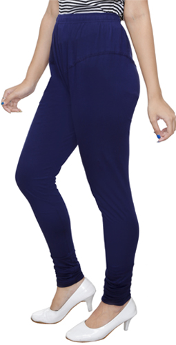Navy Blue Churidar Leggings