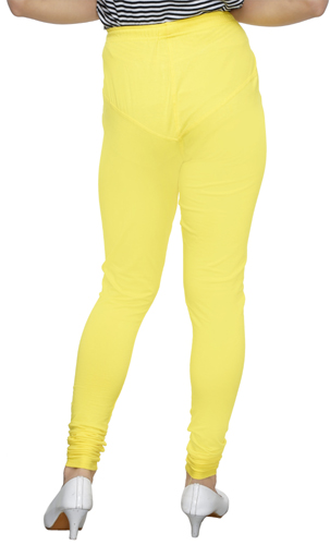 Yellow Churidar Legging