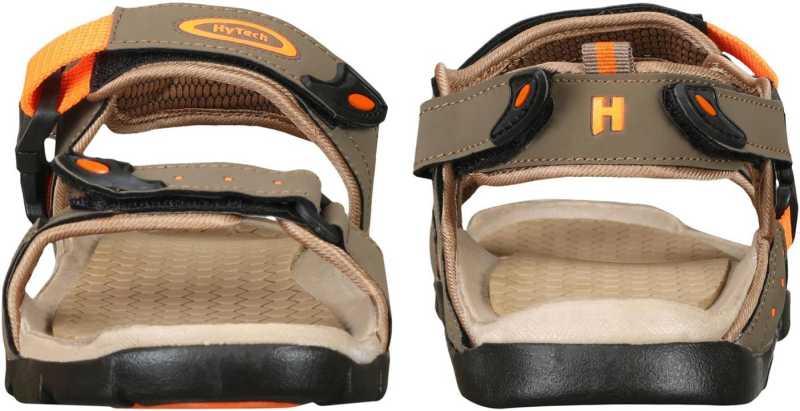 Stylish Men Brown Orange Sandals