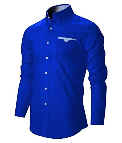 Cotton Men Casual Slim Fit Shirt
