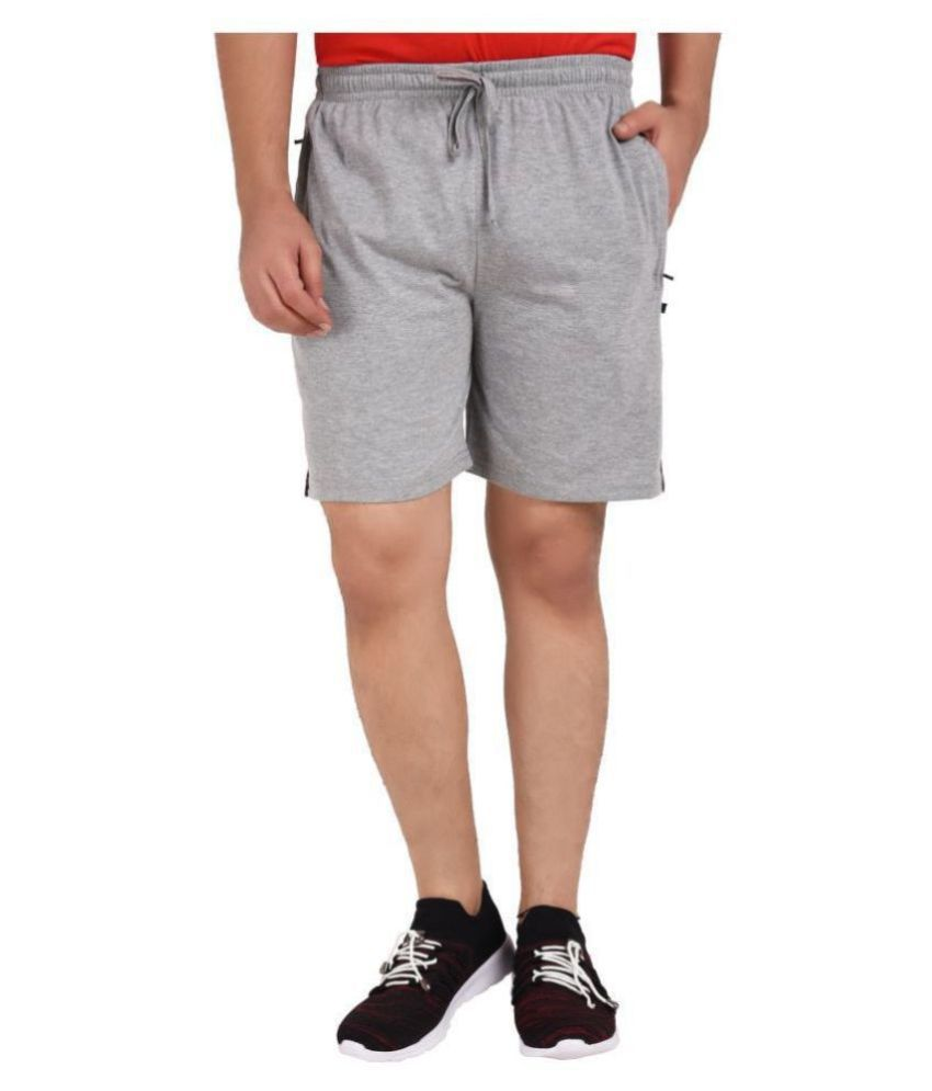 Mens Grey Shorts