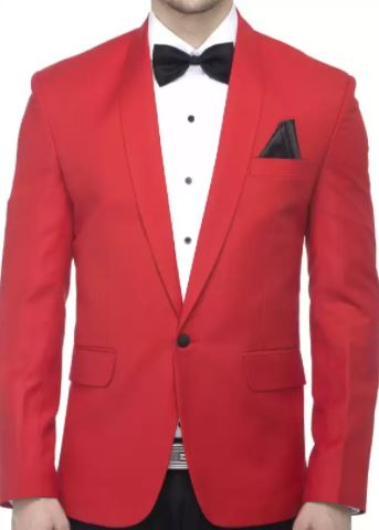 Creative Solid Single Breasted Party Men Blazer