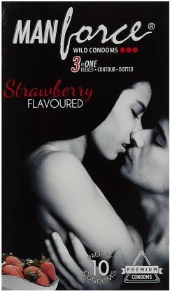 Manforce M Strawberry 10 Condom