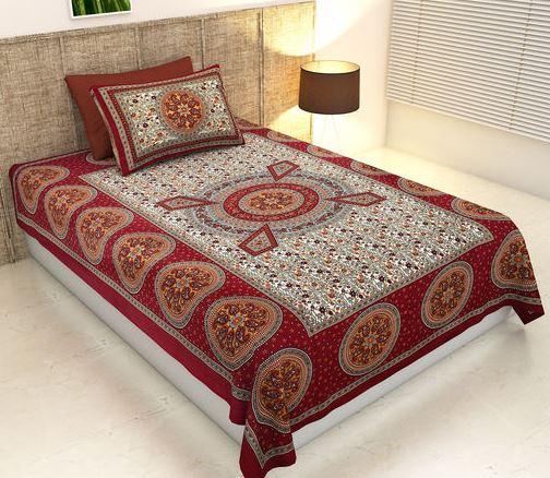 Rajasthani print bedsheet
