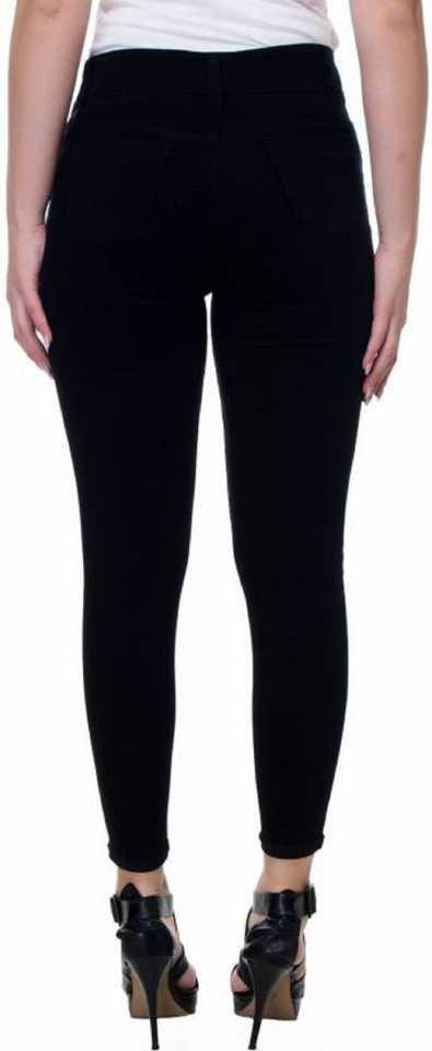 Stoc Women Skinny Black Jeans