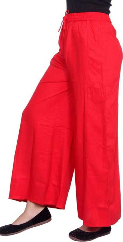Stoc Women Red Trousurs