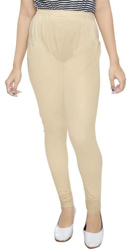 Skin Color Churidar Leggings