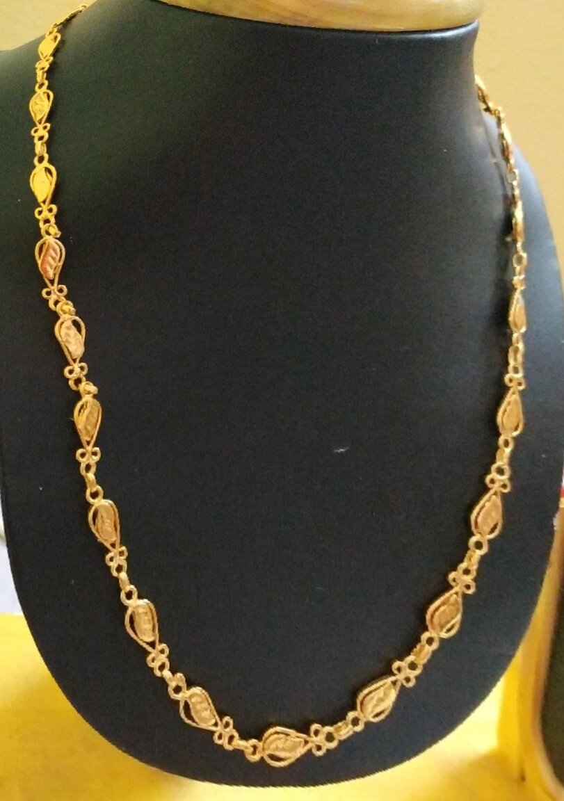 1gm Gold Plated Chains