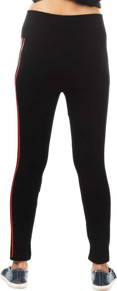 Stoc Women Black Track Pants