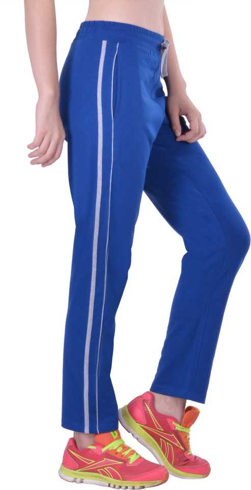 Stoc Solid Women Blue Track Pants