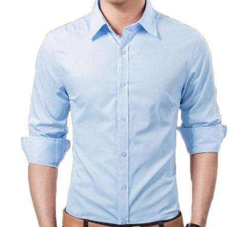 Linen Plain Men's Formal Shirt