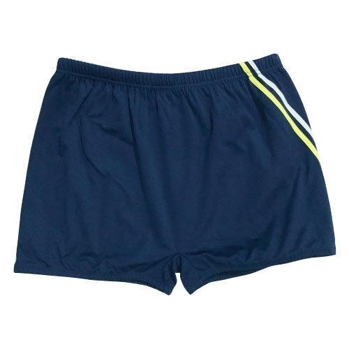 Solid Men Blue Swim Shorts