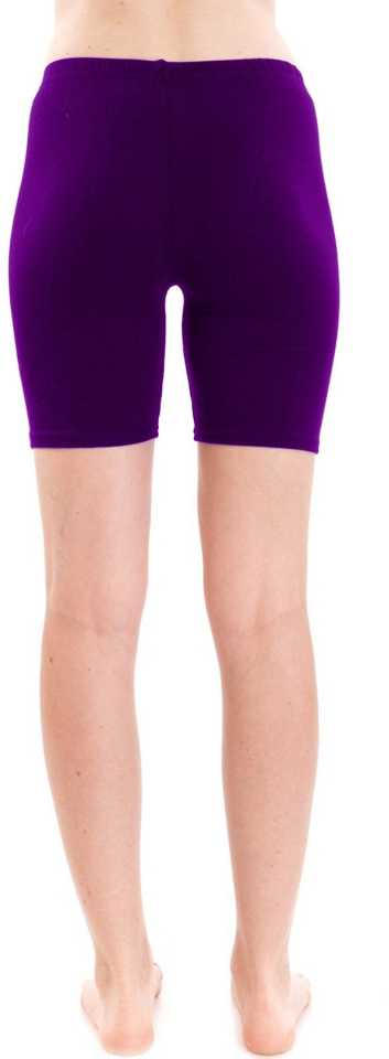 Stoc Women Shorts Purple Tights