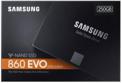 Samsung 860 EVO (MZ-76E250BW) 250GB Internal SSD