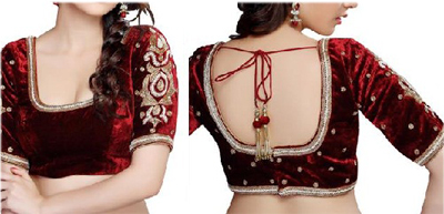 Shreya U-Neck Women's Stitched Blouse