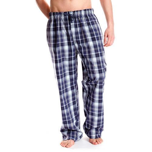 Men Checkered Multicolor Night Pants