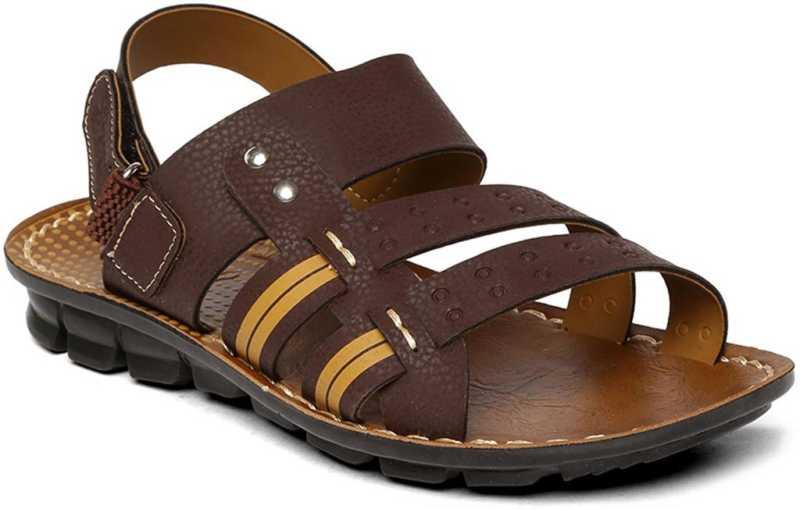 Men Brown Sandal