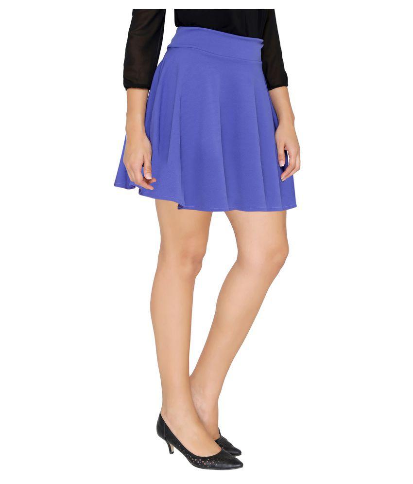 Stoc Women Polyester Skirt
