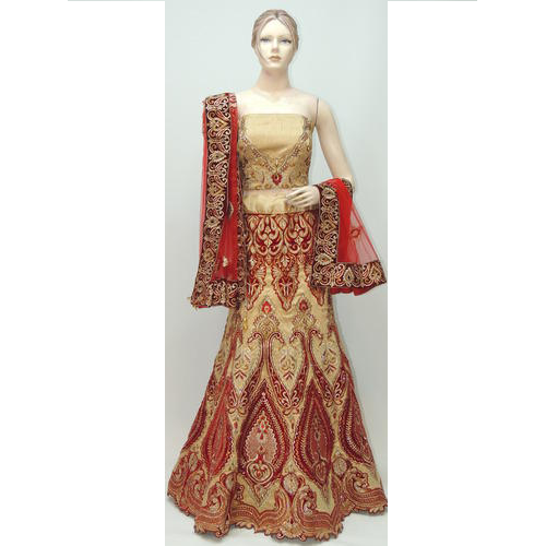 Exclusive Heavy Bridal Designer Lehenga Choli