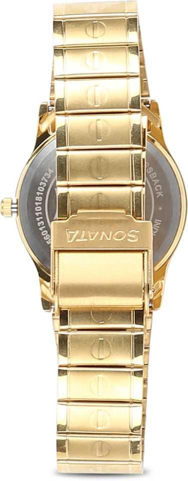 Sonata Analog Watch NN7023YM01 for men