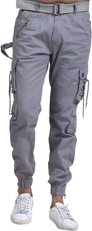 Multi Pocket Mens Relaxed-Fit Cargo Pants