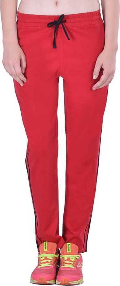 Lux Lyra Women Red Track Pants