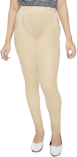 Skin Color Churidar Leggings