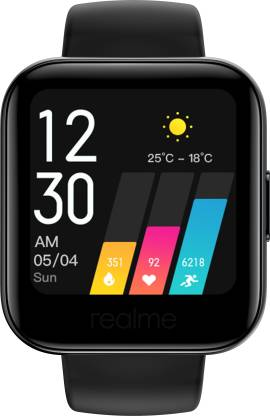 Realme Classic Watch Black Strap Regular