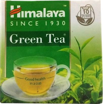 Himalaya Green Tea Bags Box  (20 g)