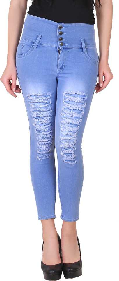 Slim Women Blue Jeans