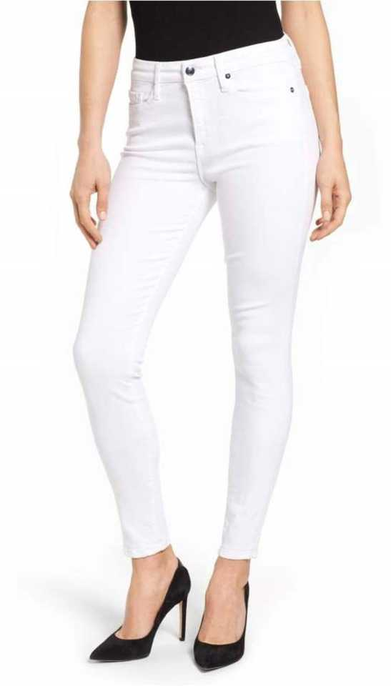 Stoc Women White Jeans
