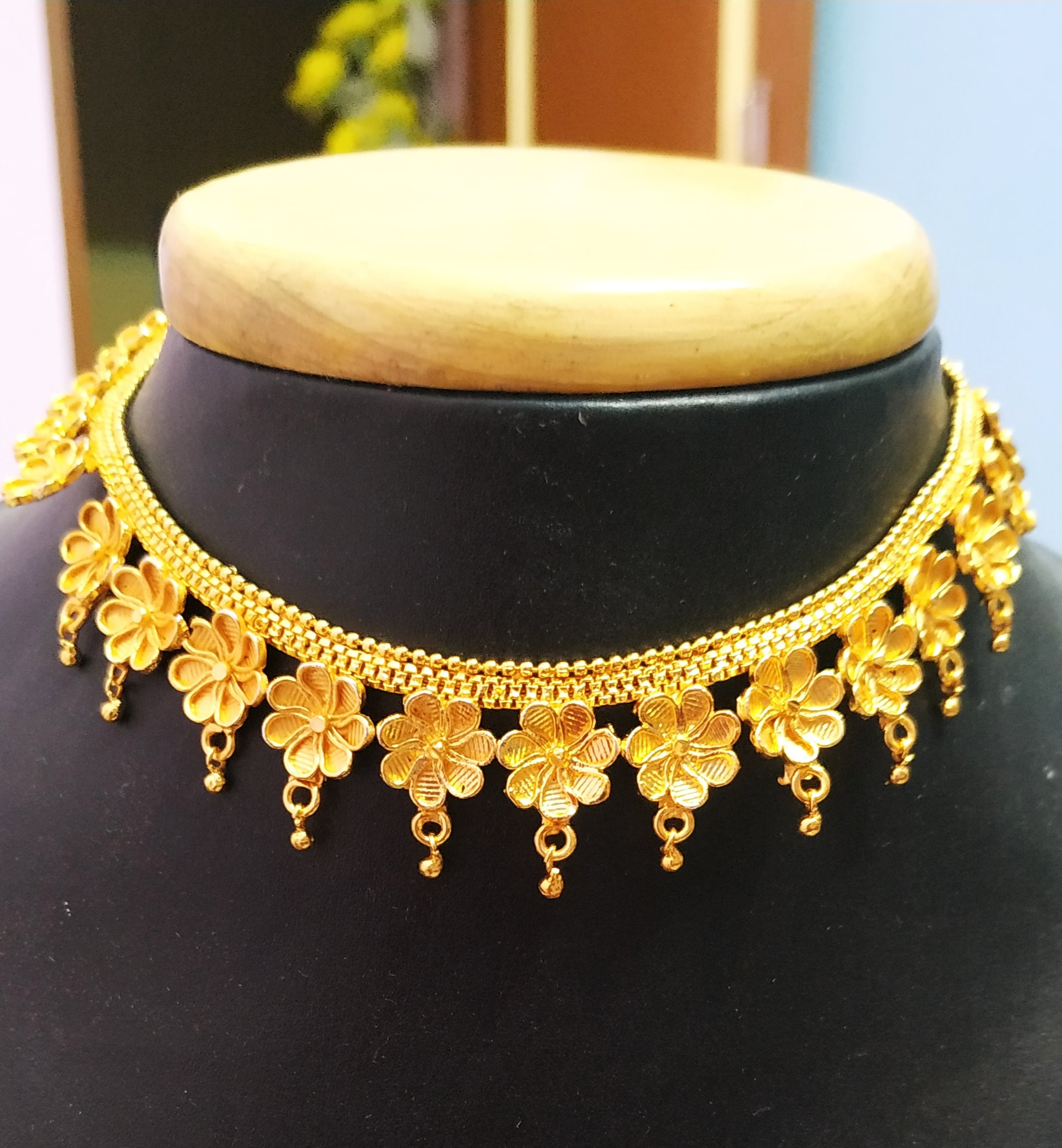 1gm Gold Plated Necklace