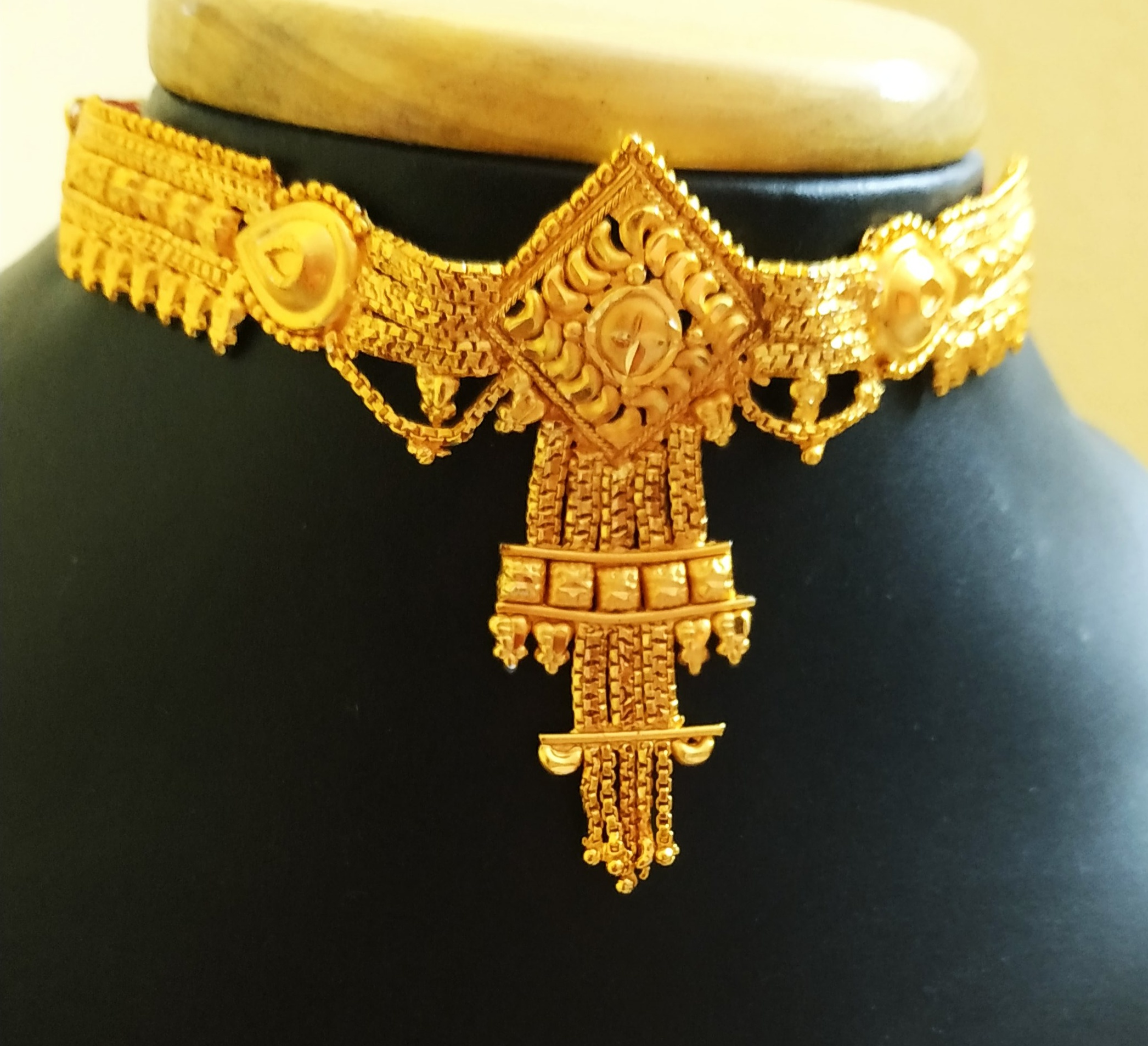 Traditional Ethnic One Gram Gold Plated Chik