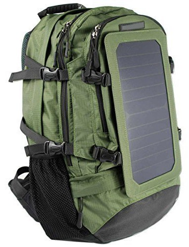 Stoc Backpack With Solar Panel