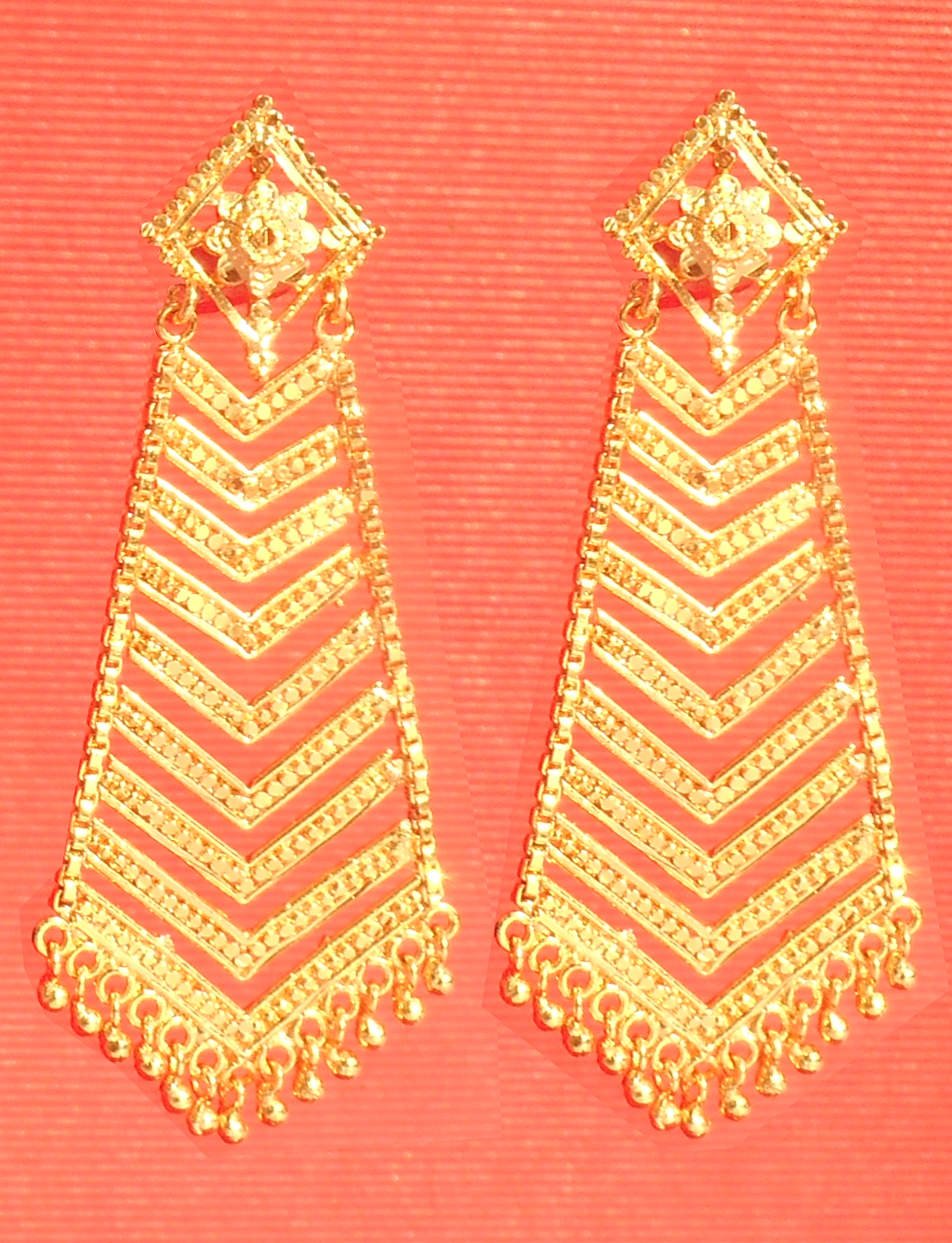 One Gram Gold Plated Earrings Set For Women Alloy Jhumka Earring
