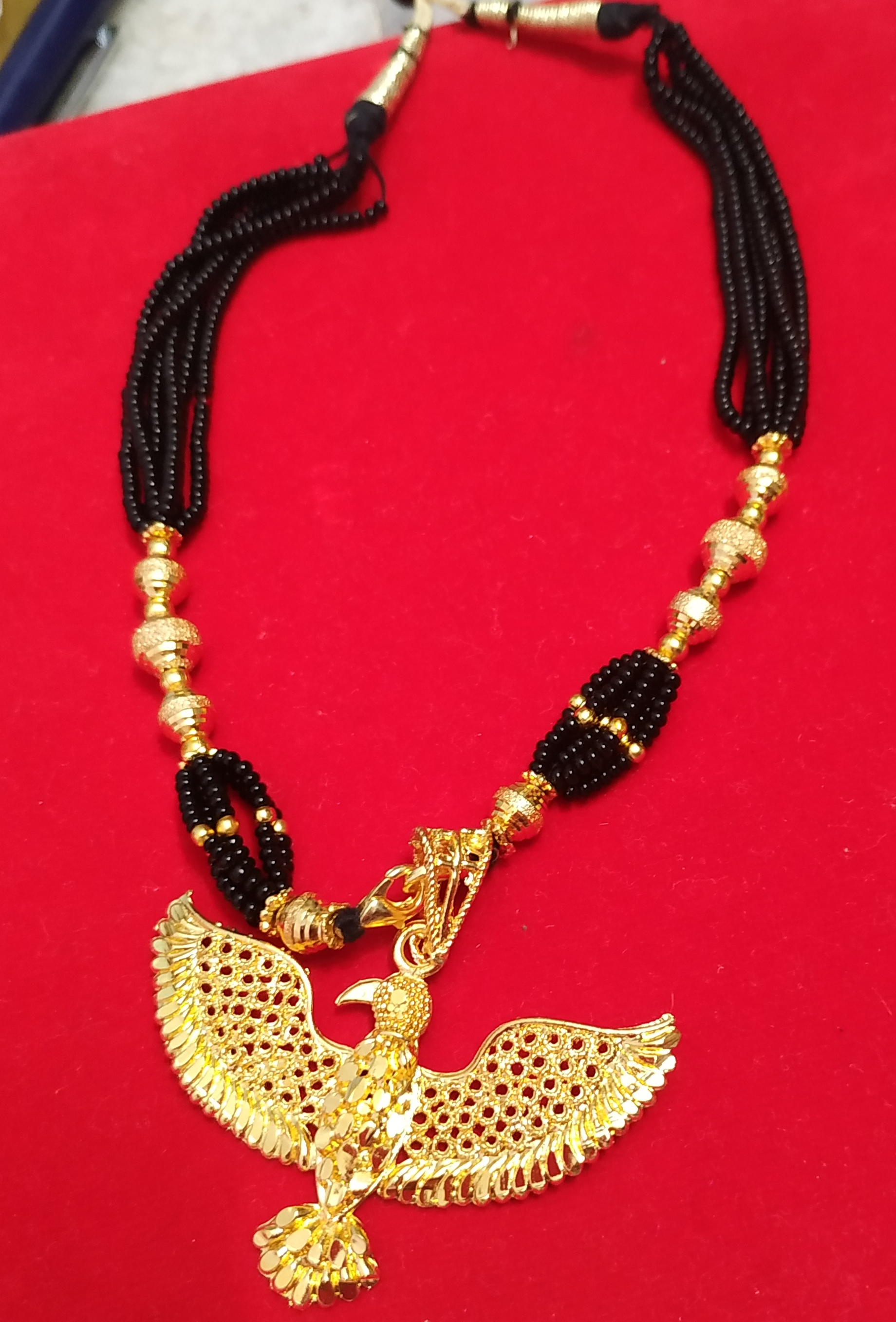 Gold Plated Handcrafted Necklace Set