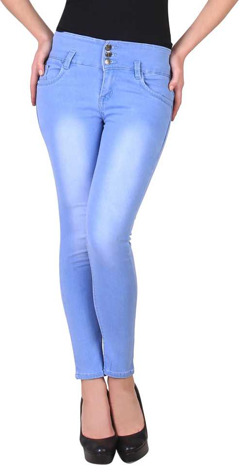Slim Women Light Blue Jeans Limited offer ₹560   75% Off @Vmaxo