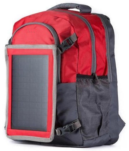 Stoc Polyester Solar Backpack